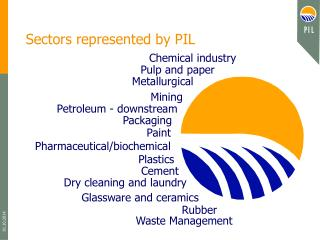 Sectors represented by PIL