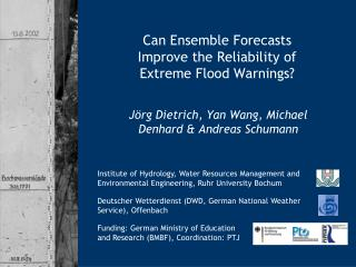 Can Ensemble Forecasts Improve the Reliability of Extreme Flood Warnings?