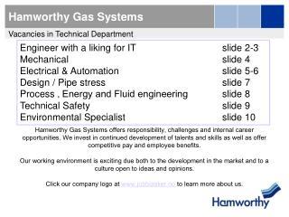 Hamworthy Gas Systems