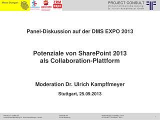 Potenziale von SharePoint 2013  als  Collaboration -Plattform