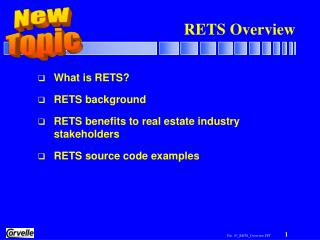 RETS Overview