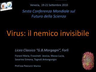 Venezia,  19-21 Settembre 2010