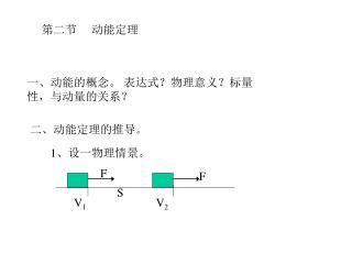第二节     动能定理