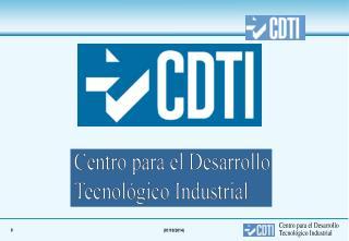¿Cual es el objetivo social del CDTI?