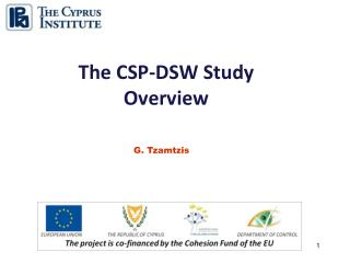 The CSP-DSW Study  Overview