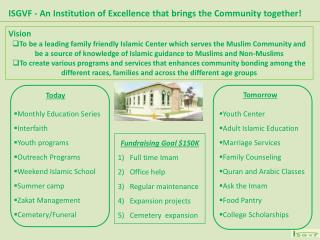 ISGVF - An Institution of Excellence that brings the Community together!