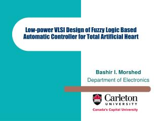 Low-power VLSI Design of Fuzzy Logic Based Automatic Controller for Total Artificial Heart
