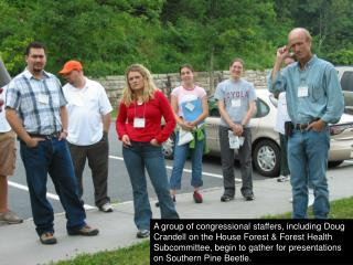 Doug Morris, Superintendent of the Shenandoah National Park, welcomes participants.