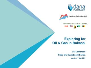 Exploring for  Oil & Gas in  Bakassi