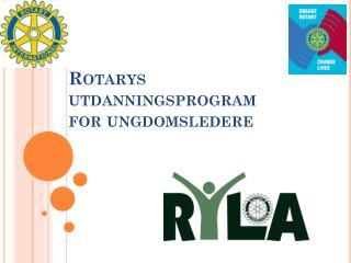 Rotarys utdanningsprogram for ungdomsledere