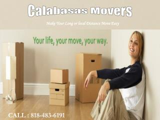 Make Your Long Distance Move Easy With Calabasas Movers