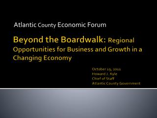 Atlantic  County  Economic Forum