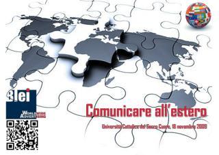Comunicare all'estero Università Cattolica del Sacro Cuore, 18 novembre 2009