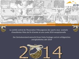 Der Zentralvorstand wünscht Ihnen frohe Festtage und ein erfolgreiches und glückliches Jahr 2014