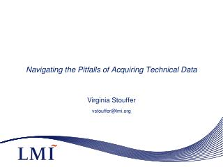 Navigating the Pitfalls of Acquiring Technical Data