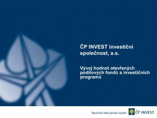ČP INVEST investiční společnost, a.s.