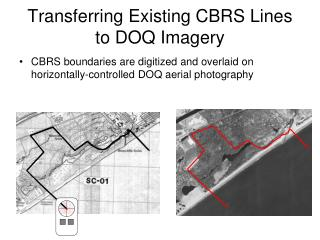 Transferring Existing CBRS Lines to DOQ Imagery