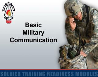 Basic  Military Communication