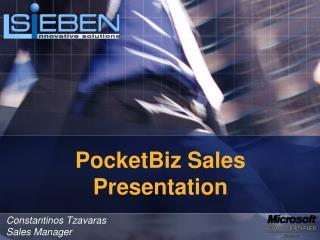 PocketBiz Sales Presentation