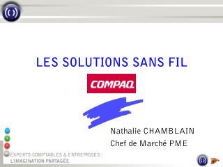 Nathalie CHAMBLAIN Chef de Marché PME