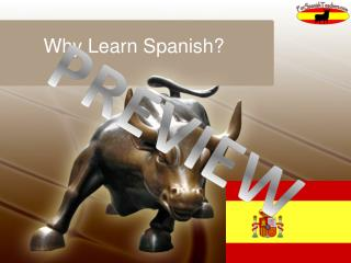 Why Learn Spanish ?