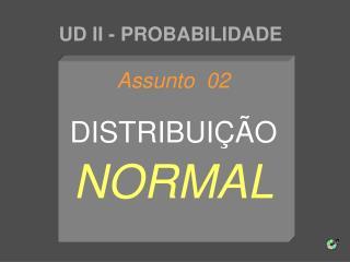 UD II - PROBABILIDADE