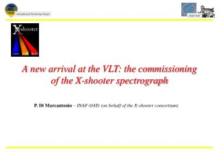 A new arrival at the VLT: the commissioning of the X-shooter spectrograph