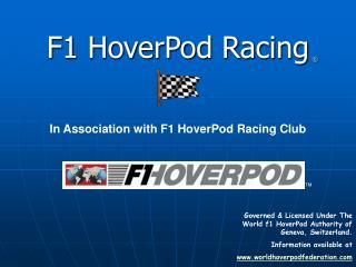 F1 HoverPod Racing