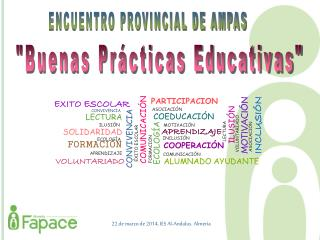 ENCUENTRO PROVINCIAL DE AMPAS