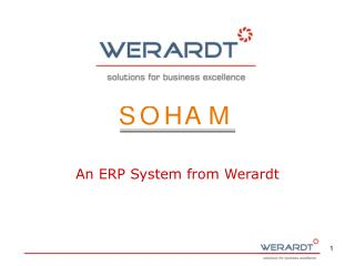 An ERP System from Werardt