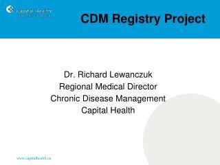CDM Registry Project