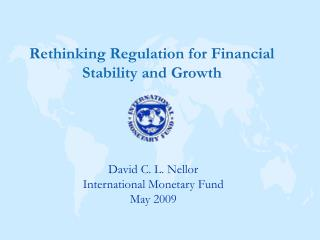 Rethinking Regulation for Financial Stability and Growth