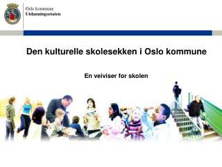 Den kulturelle skolesekken i Oslo kommune