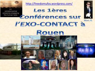 Les 1ères Conférences sur l'EXO-CONTACT à Rouen