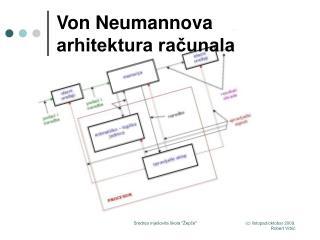 Von Neumannova arhitektura računala