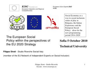 EIRC  Foundation European Integration and Regional Competitiveness