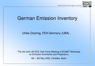 German Emission Inventory