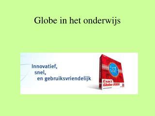 Globe in het onderwijs