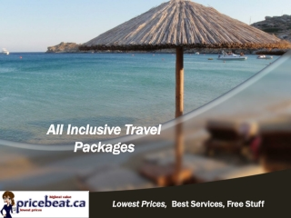 All-Inclusive Travel Packages
