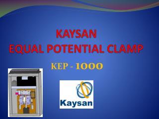 KAYSAN EQUAL POTENTIAL CLAMP