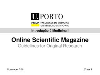 Online  Scientific  Magazine