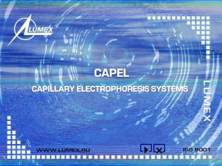 CAPILLARY ELECTROPHORESIS SYSTEMS