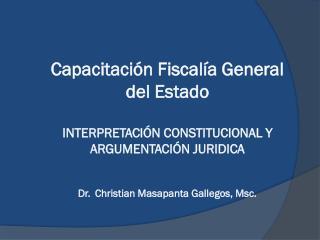 NEOCONSTITUCIONALISMO COMO PARADIGMA GARANTISTA INTERPRETACIÓN CONSTITUCIONAL CONTENIDOS