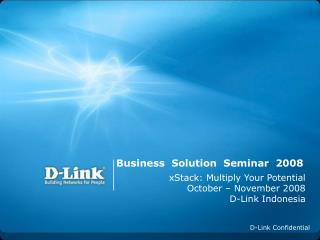 Business  Solution  Seminar  2008