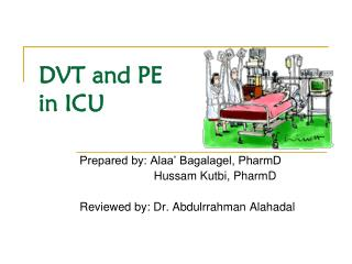 DVT and PE in ICU