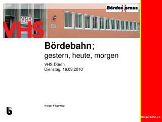 Bürger Bahn  e.V.