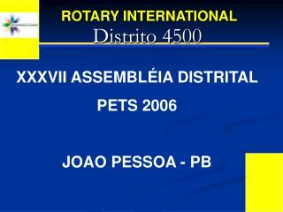 Distrito 4500