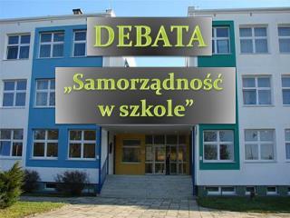 """""""Samorządność  w szkole"""""""