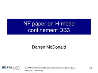 NF paper on H-mode confinement DB3
