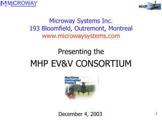 Microway Systems Inc. 193 Bloomfield, Outremont, Montreal microwaysystems